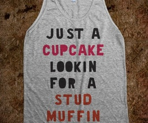cupcake, stud muffin, and cute image