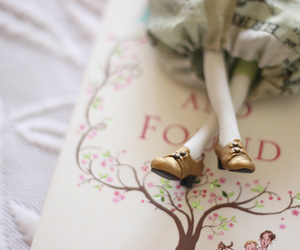 book, doll, and fairy image