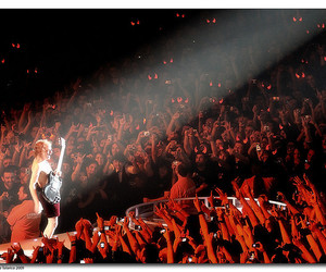 ac dc, concerto, and fans image