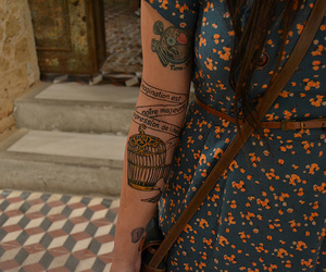 tattoo and dress image