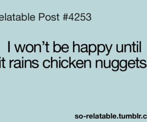 funny, Chicken, and food image