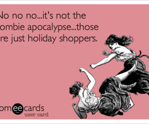 apocalypse, christmas, and zombie image