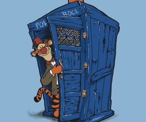 doctor who, disney, and tiger image