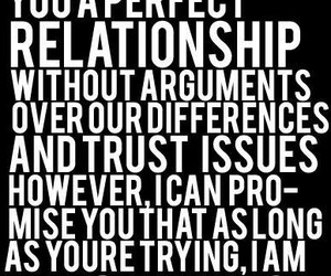 Relationship, quote, and promise image