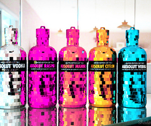 absolut vodka, drunk, and night image