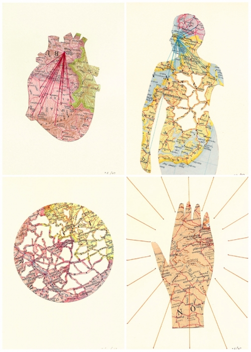 map, anatomy, and body image