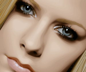 Avril Lavigne, digital art, and girl image