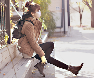 kfashion, girl, and fashion image