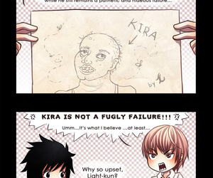 death note, L, and kira image