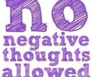 quote, negative, and thoughts image