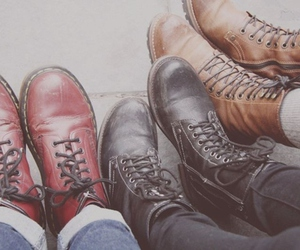 boots, shoes, and hipster image