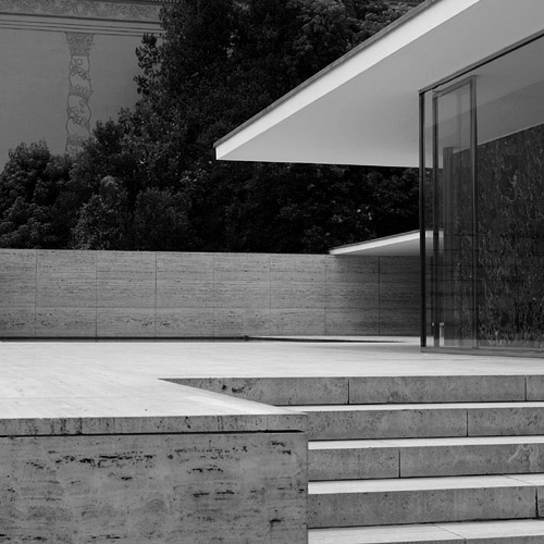 architecture, Barcelona, and Mies van der Rohe image