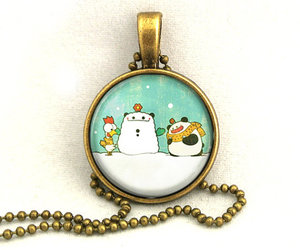 christmas, illustration drawing, and jewellery image