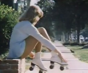 fun, model, and rollerblades image