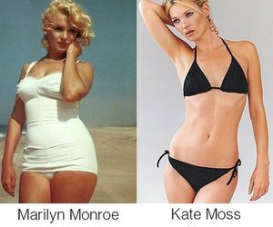 creative, curves, and kate moss image