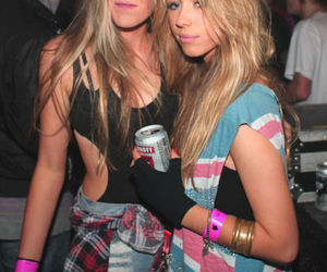 fashion, girl, and party image