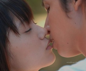 couple, asian, and japanese image
