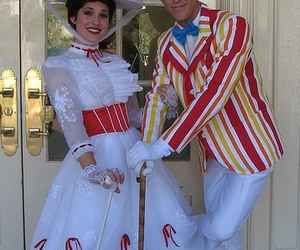 bert, costumes, and Mary Poppins image