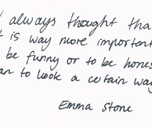 quote, emma stone, and text image