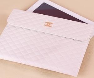 chanel, ipad, and bag image