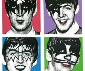 kiss, the beatles, and beatles image
