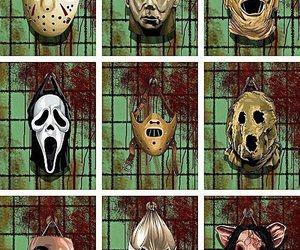 horror, mask, and jason image
