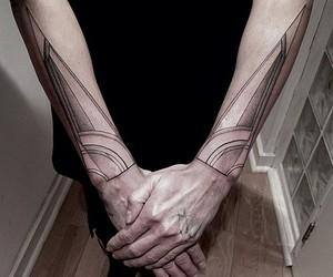 geometry and tattoo image