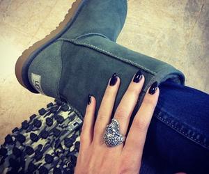 fashion, ugg, and nails image