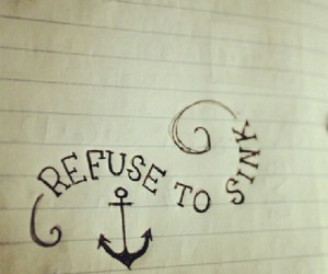 anchor, quote, and sink image