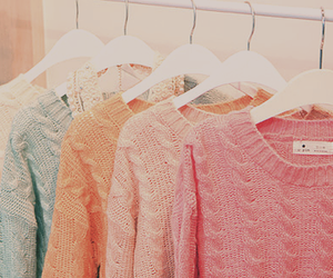 pastels, winter, and colorful image