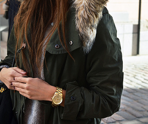 clothes, parka, and fashion image