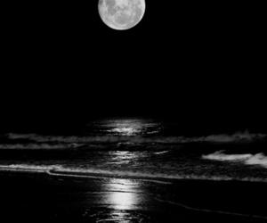 beautiful, night, and moon image