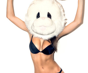 Boob, bunny, and fitness image