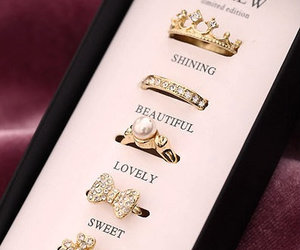 rings, beautiful, and sweet image