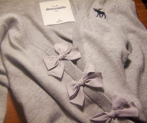 fashion, bow, and abercrombie image