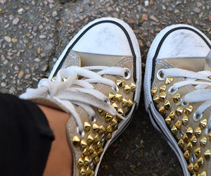 shoes, fashion, and converse image