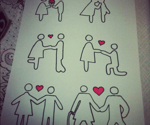love, couple, and boy image