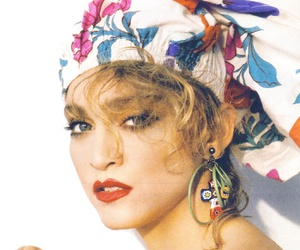 madonna, fashion, and fanfair image