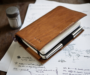 note, diary, and notebook image