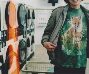 boy, vintage, and fox image