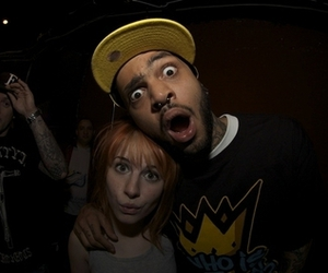 hayley williams and travie mccoy image