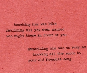 love, quotes, and red image
