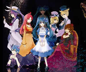 vocaloid, alice in wonderland, and miku hatsune image
