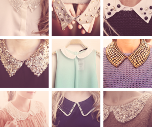 fashion, collar, and style image