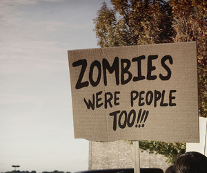 zombies, people, and zombie image