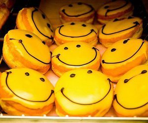 Cookies, emoticon, and happy image