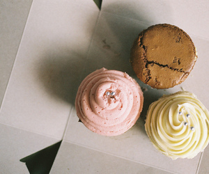 cupcake, vintage, and photography image