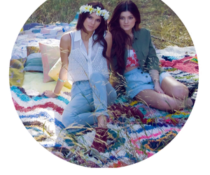 marc jacobs, kendall jenner, and kylie jenner image