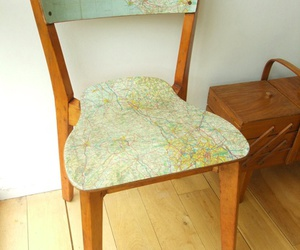 chair and map image