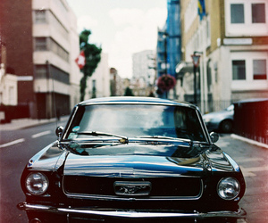 car, mustang, and photography image